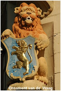 Mighty symbol. This Lion is to be found at the WAAG