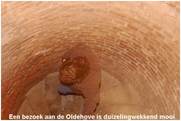 Visit the Oldehove: climb and descent. Try not to get too dizzy...